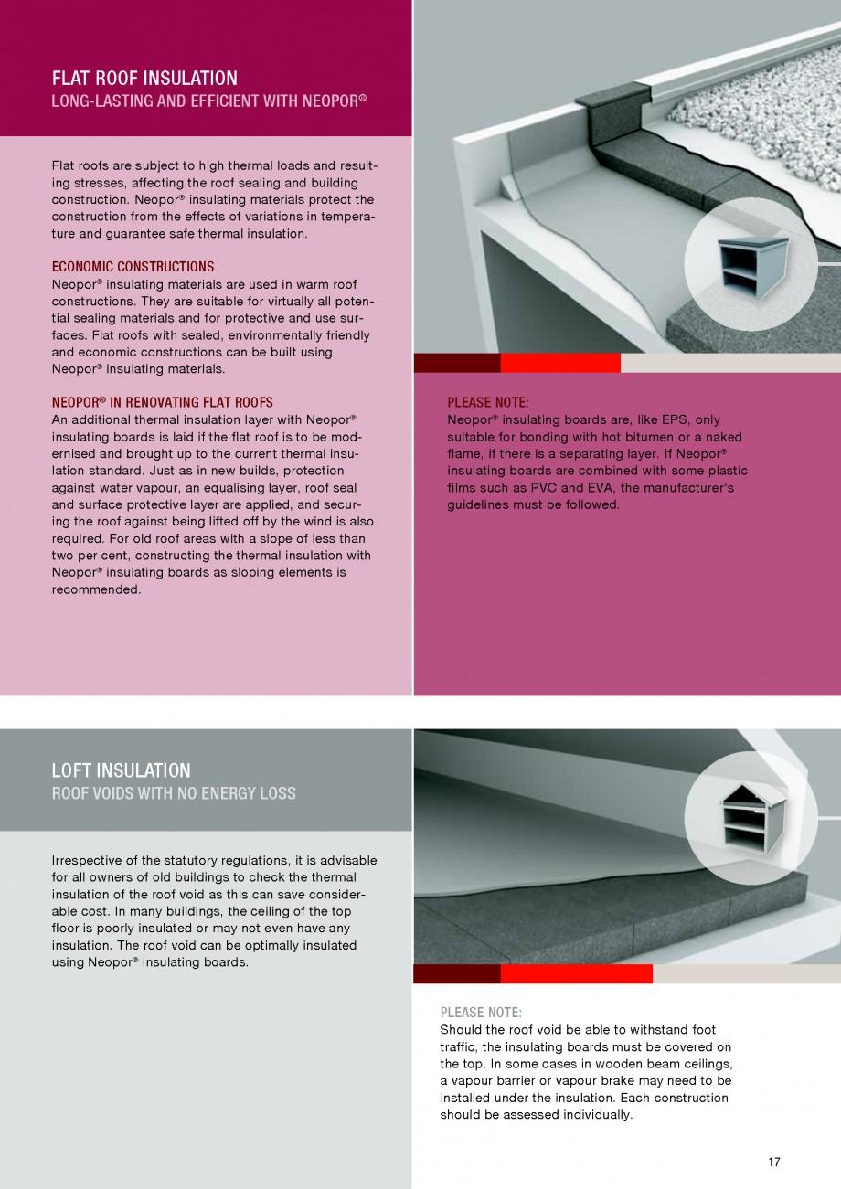 Pagina 17 - Polistiren expandat - Building and modernising with NEOPOR BASF Catalog, brosura Engleza...