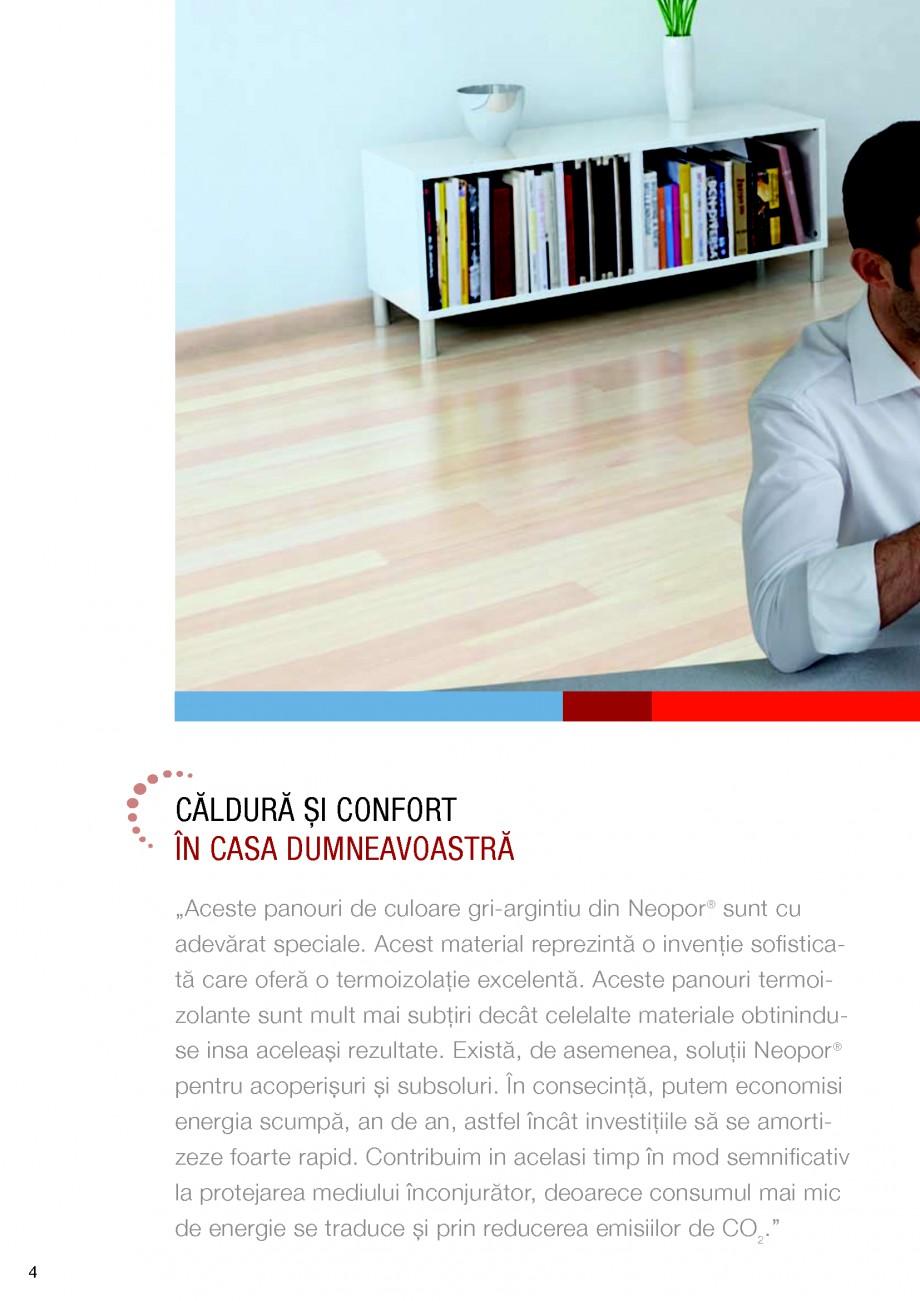 Pagina 4 - Polistiren expandat BASF Neopor Catalog, brosura Romana ţiei.  de mai puţine resurse,...