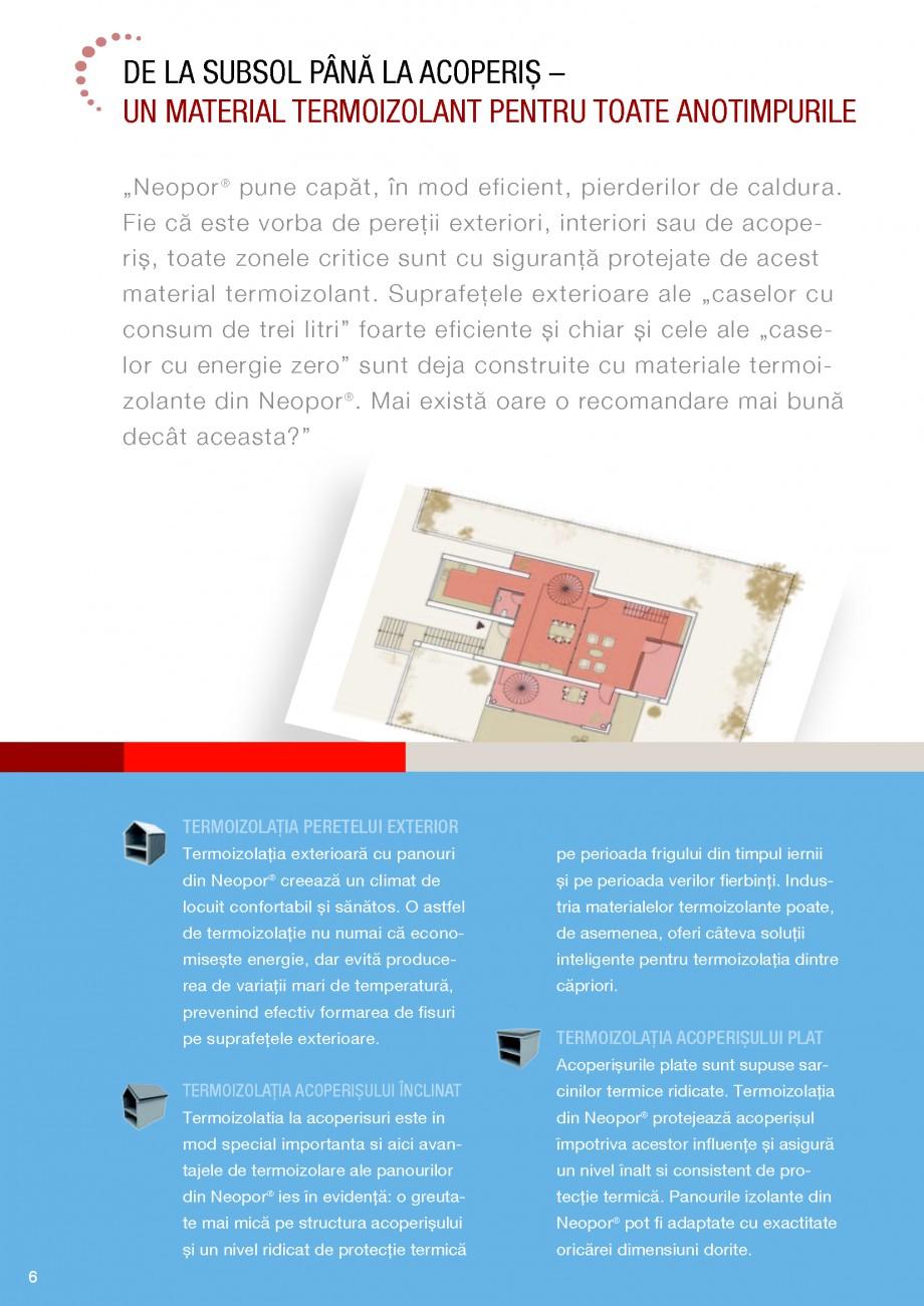 Pagina 6 - Polistiren expandat BASF Neopor Catalog, brosura Romana  împotriva acestor influenţe...