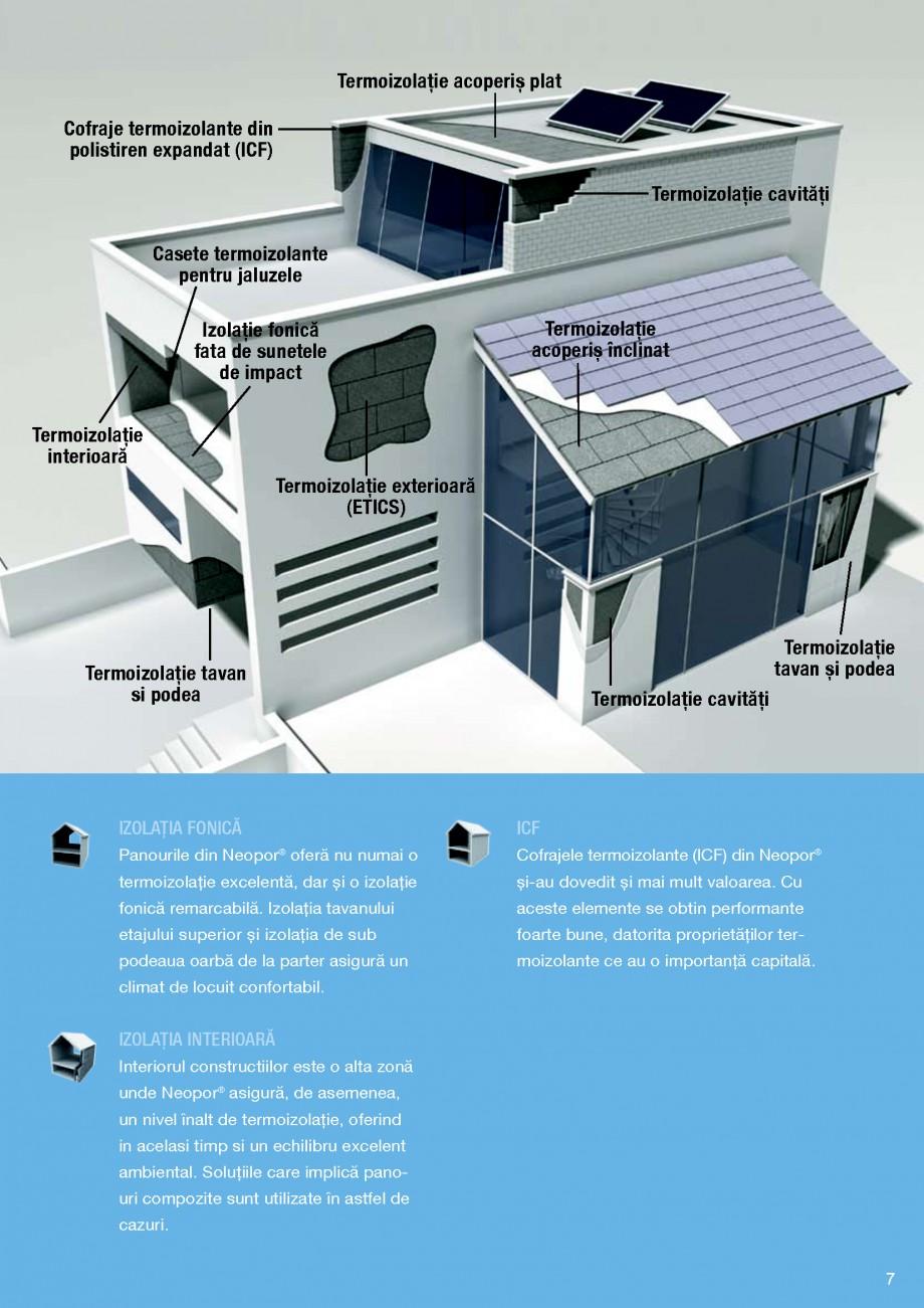 Pagina 7 - Polistiren expandat BASF Neopor Catalog, brosura Romana te elemente se obtin performante ...