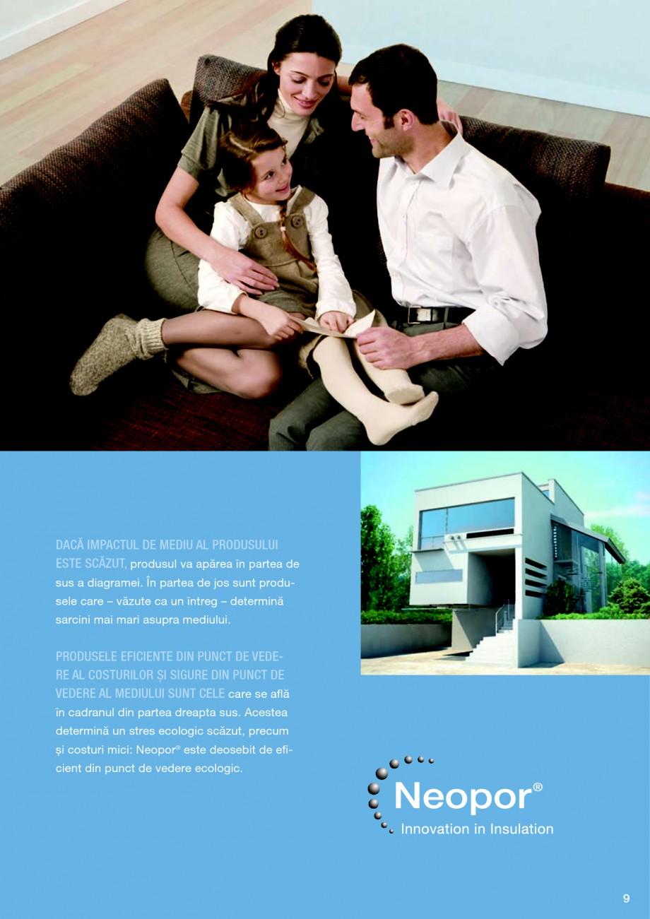 Pagina 9 - Polistiren expandat BASF Neopor Catalog, brosura Romana OSTURILE SUNT MICI, produsul se...