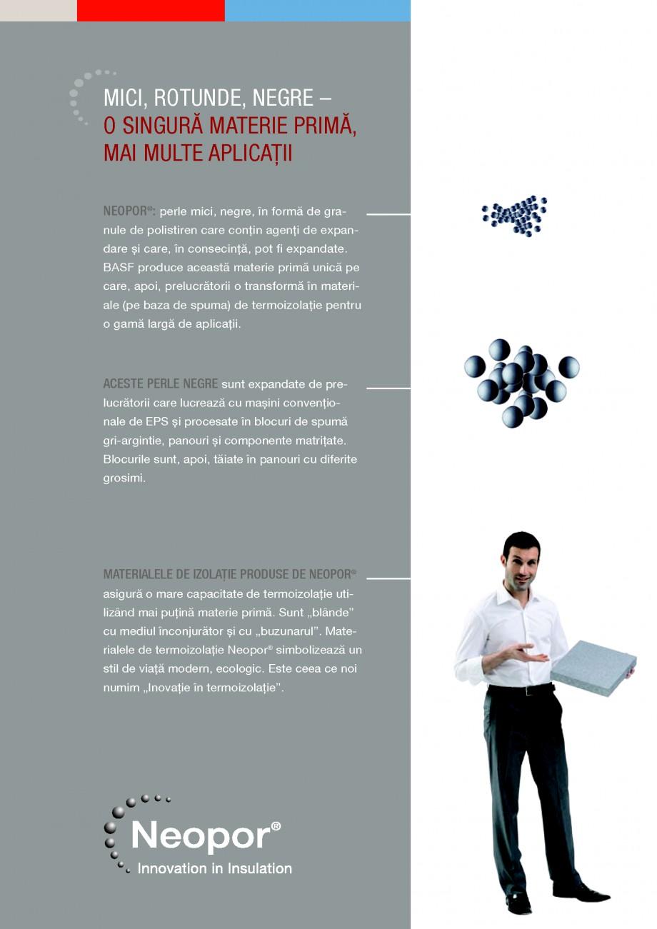 Pagina 11 - Polistiren expandat BASF Neopor Catalog, brosura Romana ZVOLTAT NU NUMAI STYROPOR  ® ...