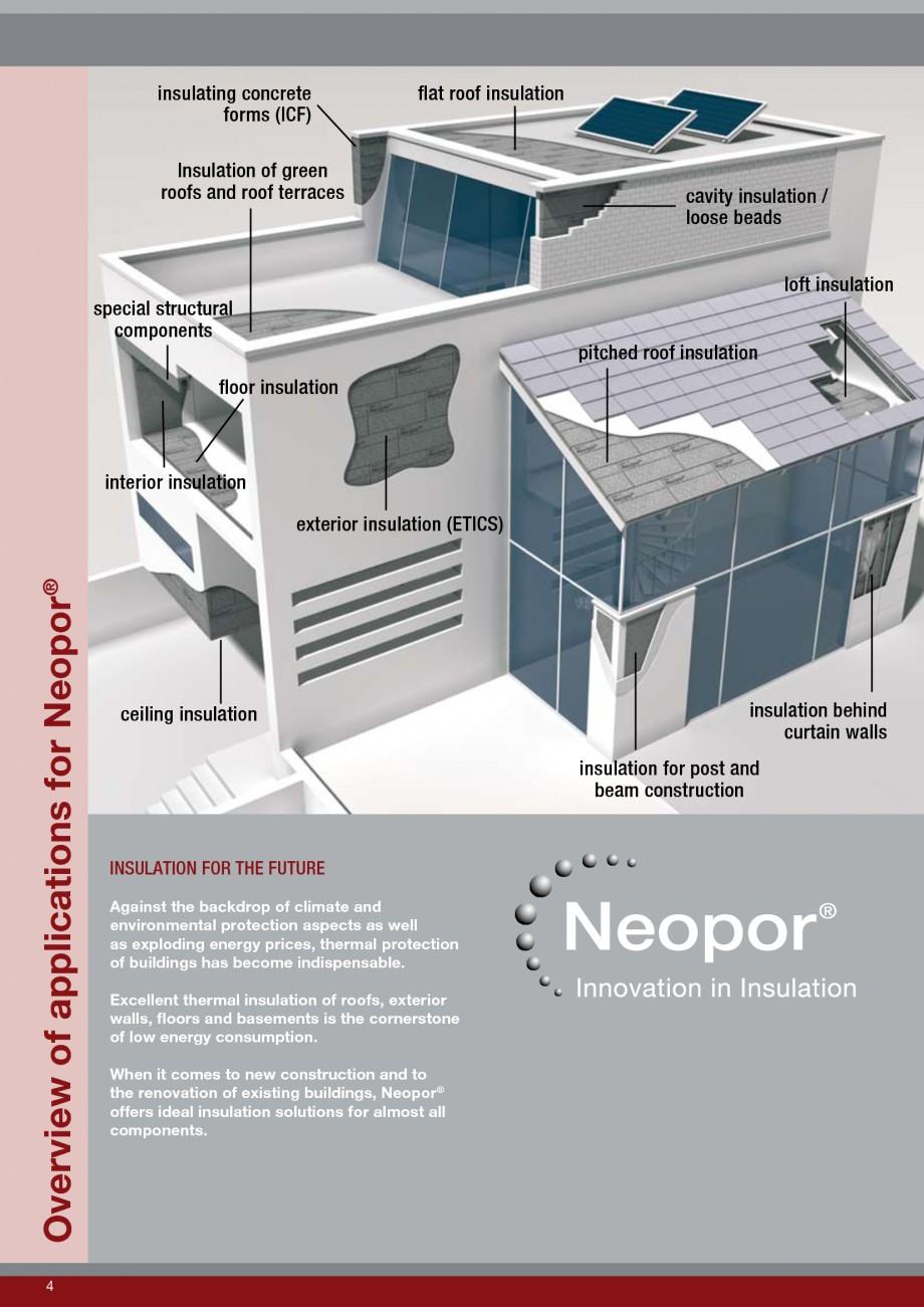 Pagina 4 - Polistiren expandat - Roof Insulation BASF Neopor Catalog, brosura Engleza  interior...