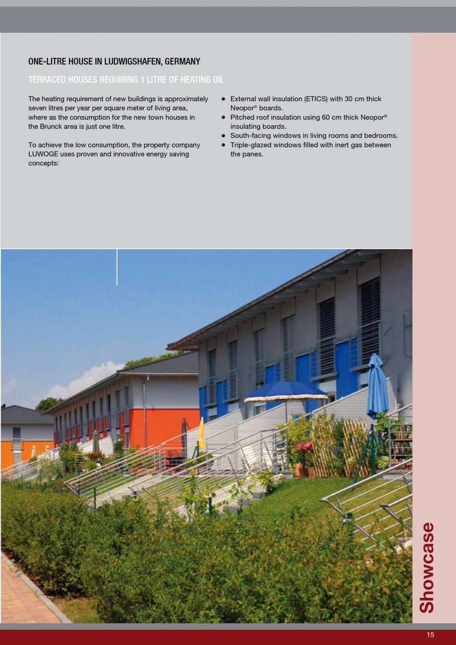 Pagina 15 - Polistiren expandat - Roof Insulation BASF Neopor Catalog, brosura Engleza lat roof...