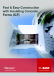 Polistiren expandat - Neopor hot climates ICF BASF -