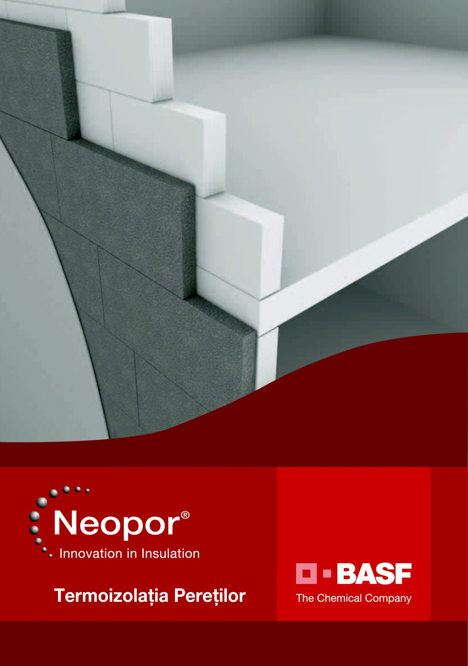 Pagina 1 - Polistiren expandat pentru termoizolarea peretilor BASF Neopor Catalog, brosura Romana...