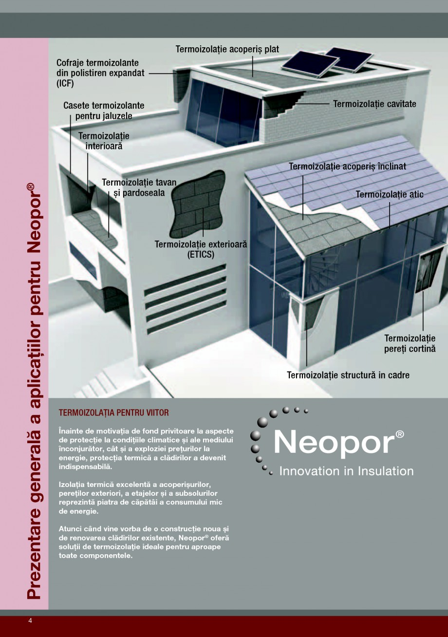 Pagina 4 - Polistiren expandat pentru termoizolarea peretilor BASF Neopor Catalog, brosura Romana...