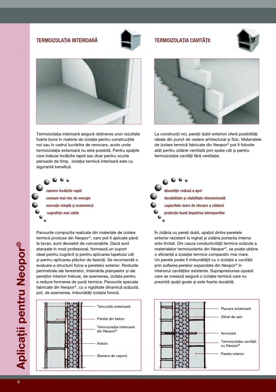 Pagina 6 - Polistiren expandat pentru termoizolarea peretilor BASF Neopor Catalog, brosura Romana...