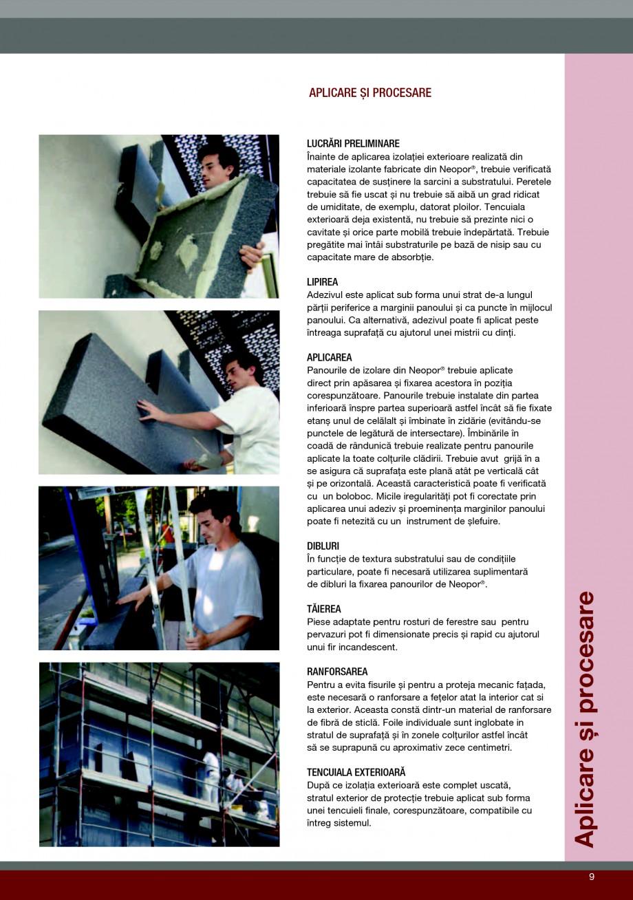 Pagina 9 - Polistiren expandat pentru termoizolarea peretilor BASF Neopor Catalog, brosura Romana...