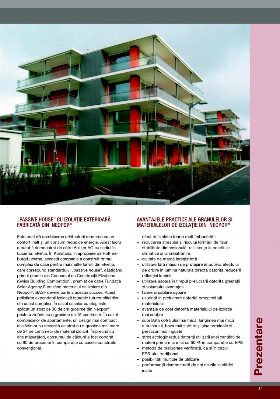 Pagina 11 - Polistiren expandat pentru termoizolarea peretilor BASF Neopor Catalog, brosura Romana...