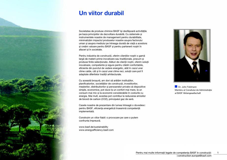 Pagina 3 - Polistiren expandat - Eficienta energetica BASF Neopor Catalog, brosura Romana ienţa...