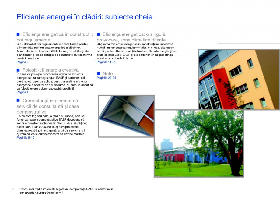 Pagina 4 - Polistiren expandat - Eficienta energetica BASF Neopor Catalog, brosura Romana rgia...
