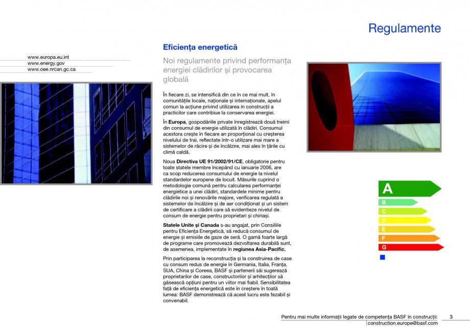 Pagina 5 - Polistiren expandat - Eficienta energetica BASF Neopor Catalog, brosura Romana biue la...