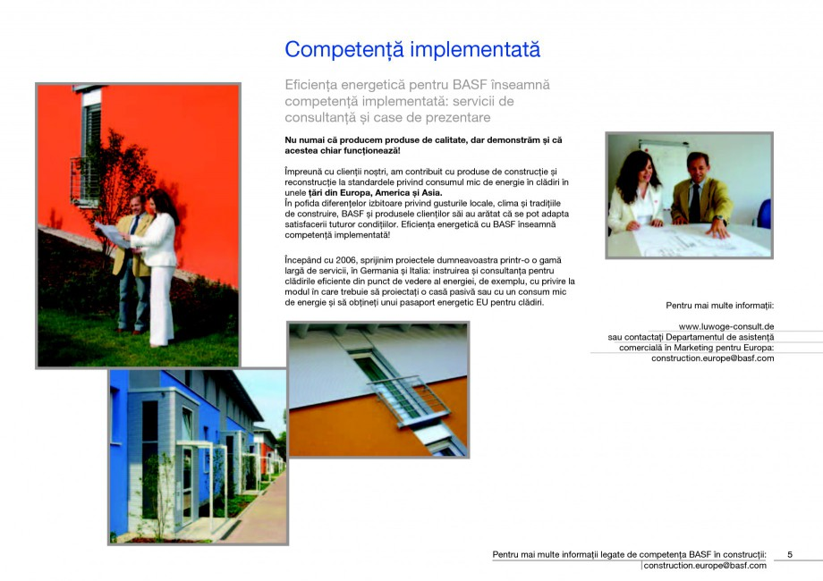 Pagina 7 - Polistiren expandat - Eficienta energetica BASF Neopor Catalog, brosura Romana binat cu...