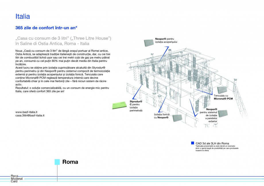 Pagina 10 - Polistiren expandat - Eficienta energetica BASF Neopor Catalog, brosura Romana uturor...
