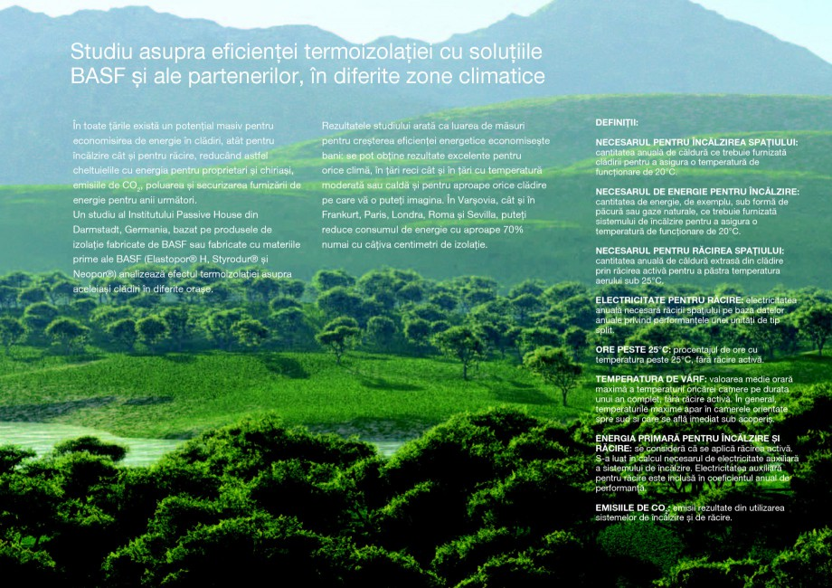 Pagina 13 - Polistiren expandat - Eficienta energetica BASF Neopor Catalog, brosura Romana ul...