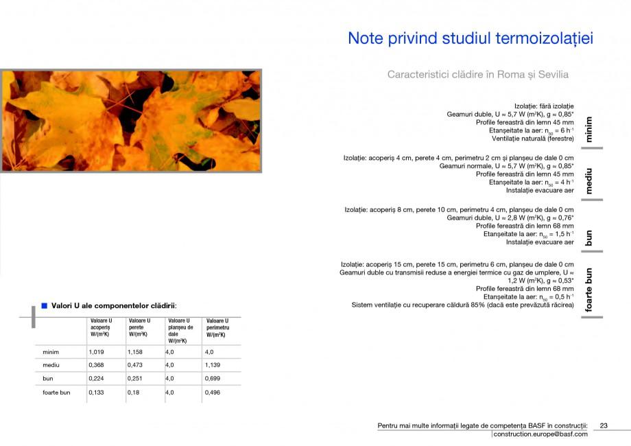 Pagina 25 - Polistiren expandat - Eficienta energetica BASF Neopor Catalog, brosura Romana rii...