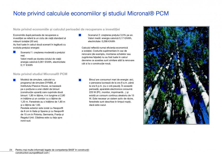 Pagina 26 - Polistiren expandat - Eficienta energetica BASF Neopor Catalog, brosura Romana €/an]...