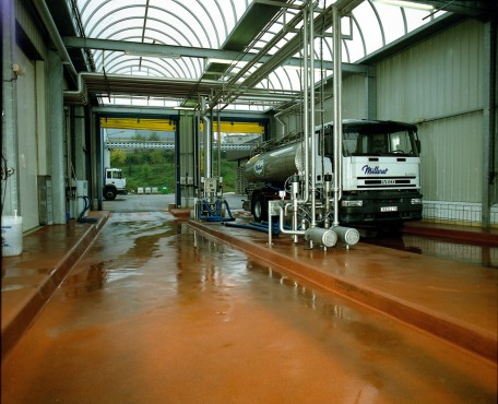 Exemple de utilizare Pardoseala industriala pentru solicitari extreme - UCRETE BASF - Poza 7