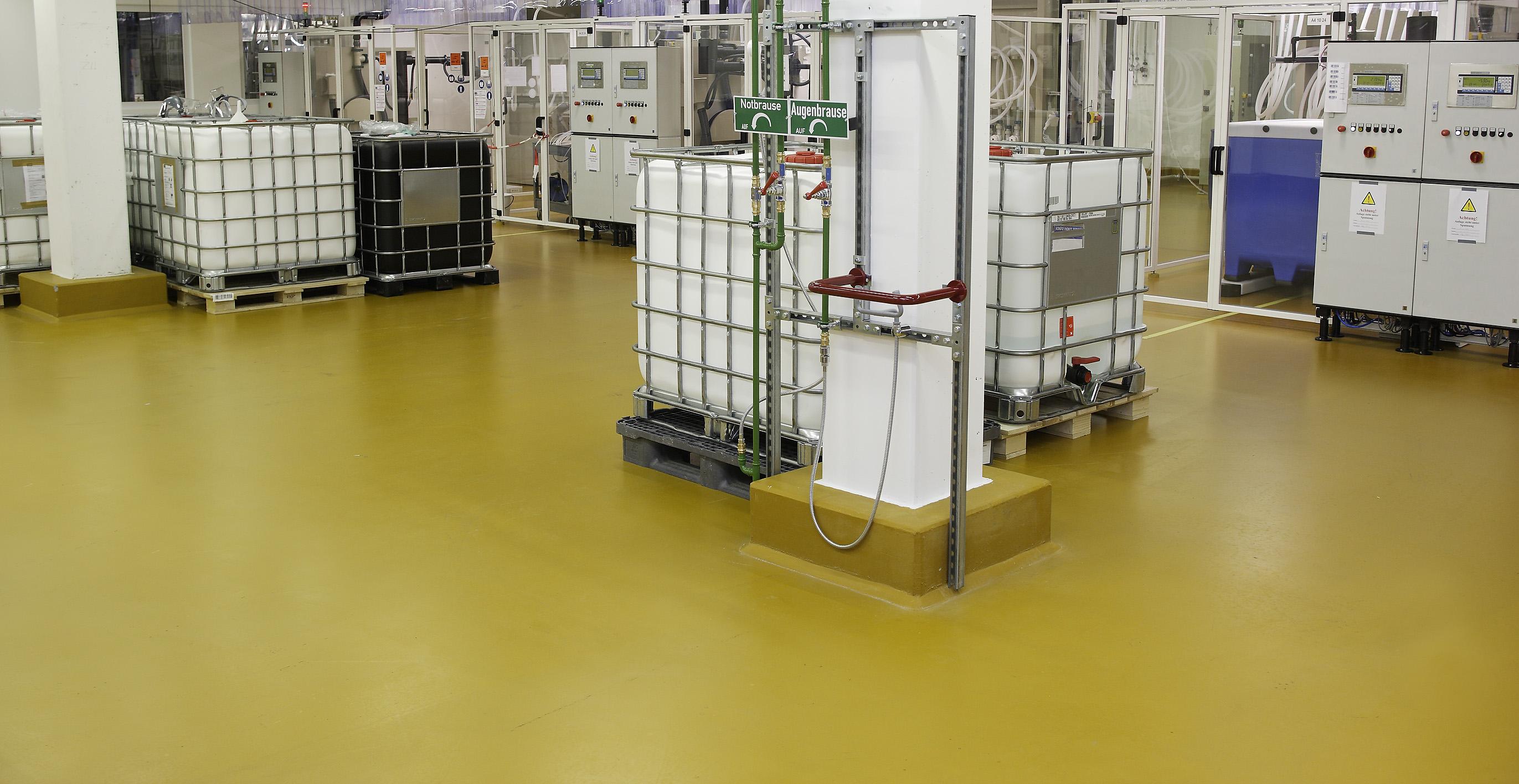 Pardoseala industriala pentru solicitari extreme - UCRETE BASF - Poza 10