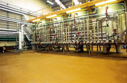 Exemple de utilizare Pardoseala industriala pentru solicitari extreme - UCRETE BASF - Poza 13