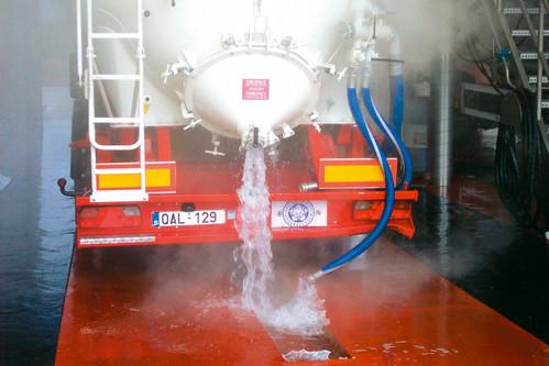 Exemple de utilizare Pardoseala industriala pentru solicitari extreme - UCRETE Tankwagen BASF - Poza 14
