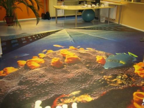 Lucrari, proiecte Pardoseli poliuretanice decorative BASF - Poza 32