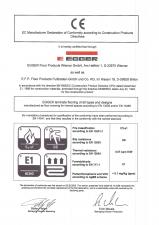 Certificat CE EN EGGER