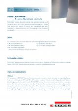 Laminate speciale din aluminiu EGGER