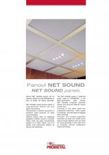 Plafon metalic suspendat casetat PROMETAL