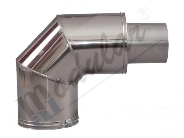 Elemente pentru cosuri de fum metalice MAL-PRODUCT - Poza 5