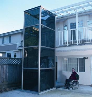Elevator pentru persoane cu dizabilitati GARAVENTA LIFT - Poza 5