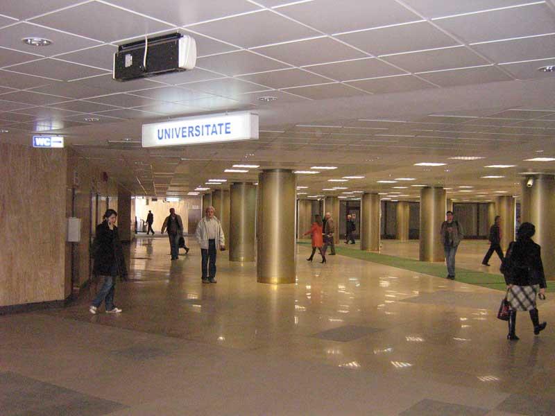 Pasaj Universitate - Bucuresti GARAVENTA LIFT - Poza 1