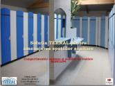 Compartimentari sanitare si mobilier de vestiare CLIPS