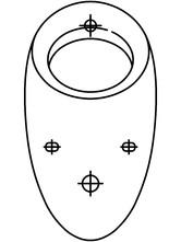 Pisoar casnic ALESSI cu sistem de spalare radar integrat SANELA