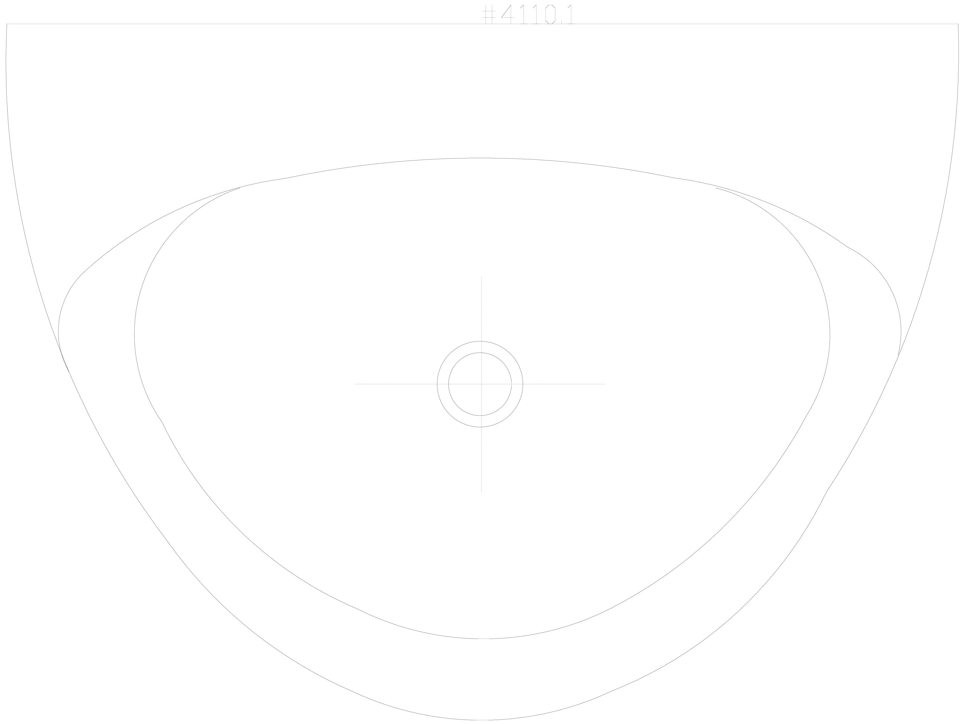 Pagina 1 - CAD-DWG Pisoar DOMINO cu sistem de spalare automat integrat 2D SANELA Detaliu de produs...