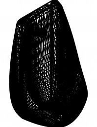 Pisoar DOMINO cu sistem de spalare automat integrat