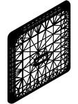 Sistem de spalare pentru pisoar cu cutie de montaj SANELA - SLP 02K