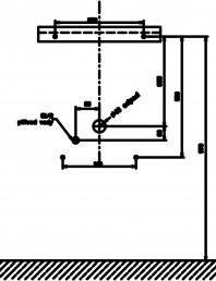 Urinar din otel inox cu ventil de spalare si sifon