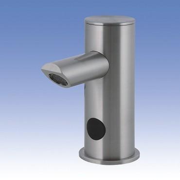 Prezentare produs Baterie de lavoar din otel inox cu senzor infrarosu - SLU 31N SANELA - Poza 1