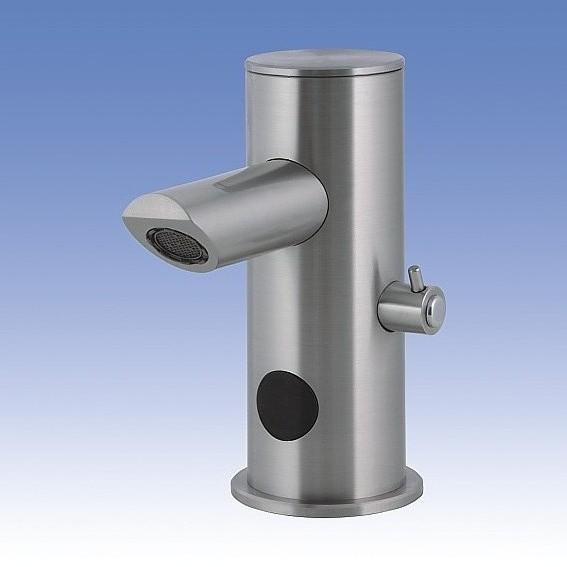 Baterie de lavoar din otel inox cu senzor infrarosu - SLU 32N SANELA - Poza 3