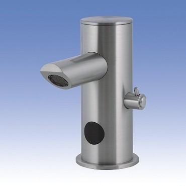 Prezentare produs Baterie de lavoar din otel inox cu senzor infrarosu - SLU 32N SANELA - Poza 3