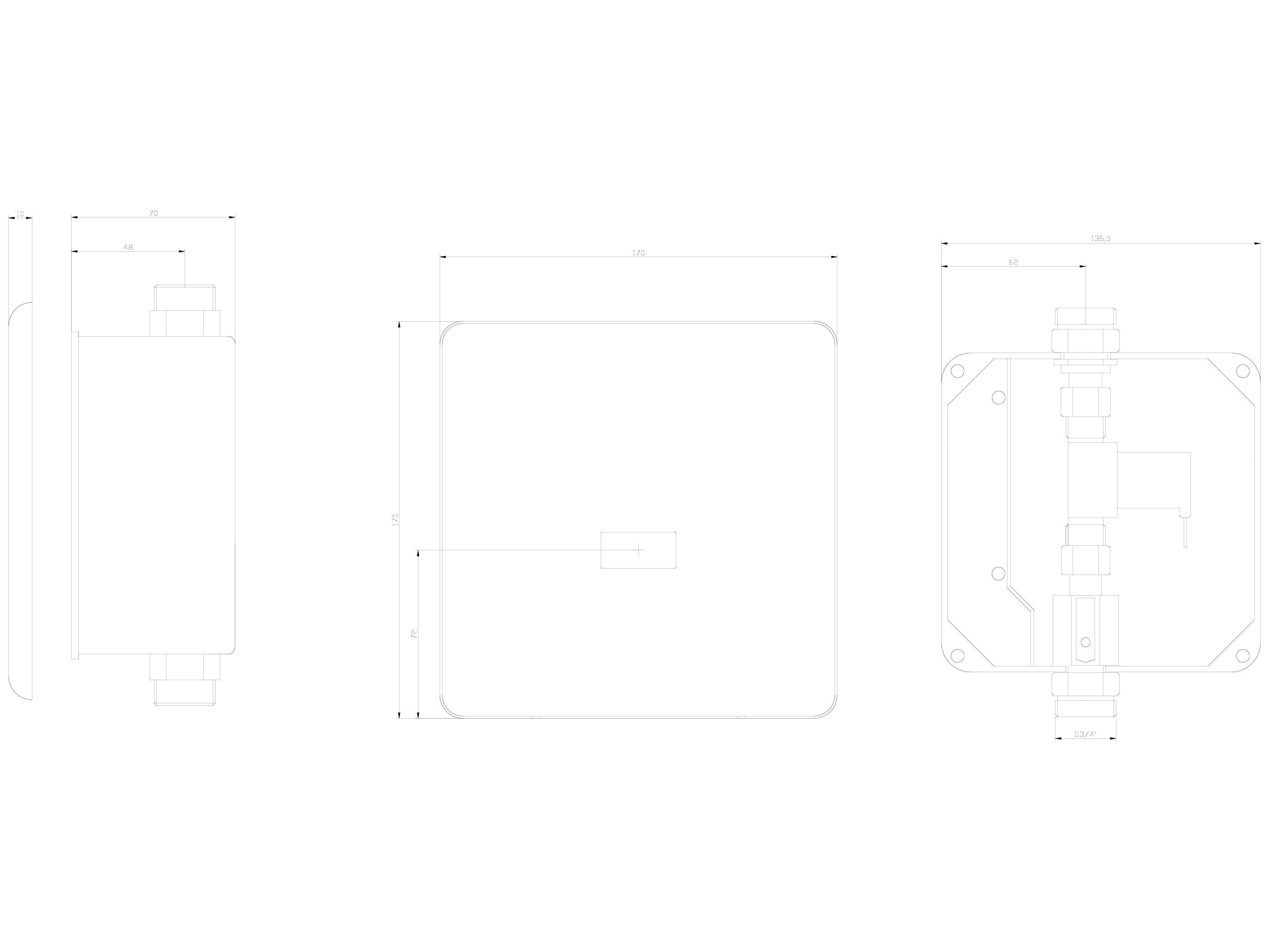 Pagina 1 - CAD-DWG Baterie de dus automata cu senzor infra-rosu SANELA Detaliu de produs SLS 01