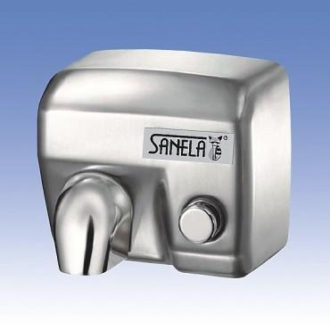 Prezentare produs Uscatoare de maini cu montaj pe perete SANELA - Poza 4