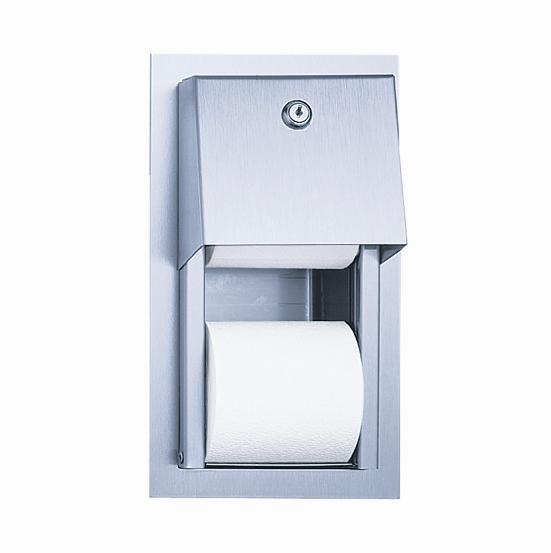 Suporti hartie igienica din otel-inox SANELA - Poza 9