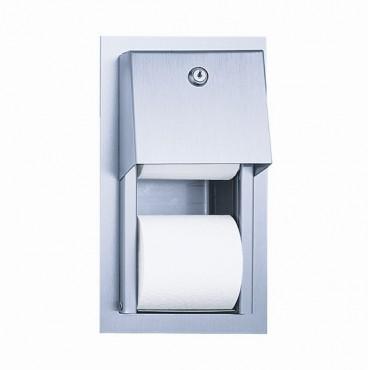 Prezentare produs Suporti hartie igienica din otel-inox SANELA - Poza 9