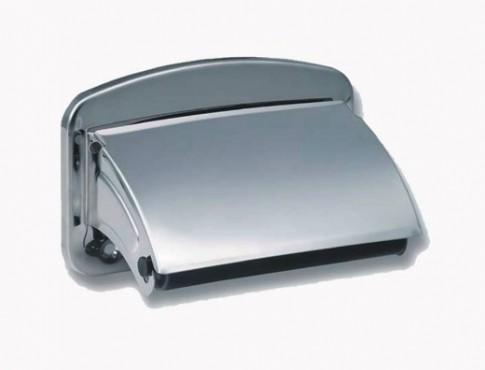 Prezentare produs Suporti hartie igienica din otel-inox SANELA - Poza 6