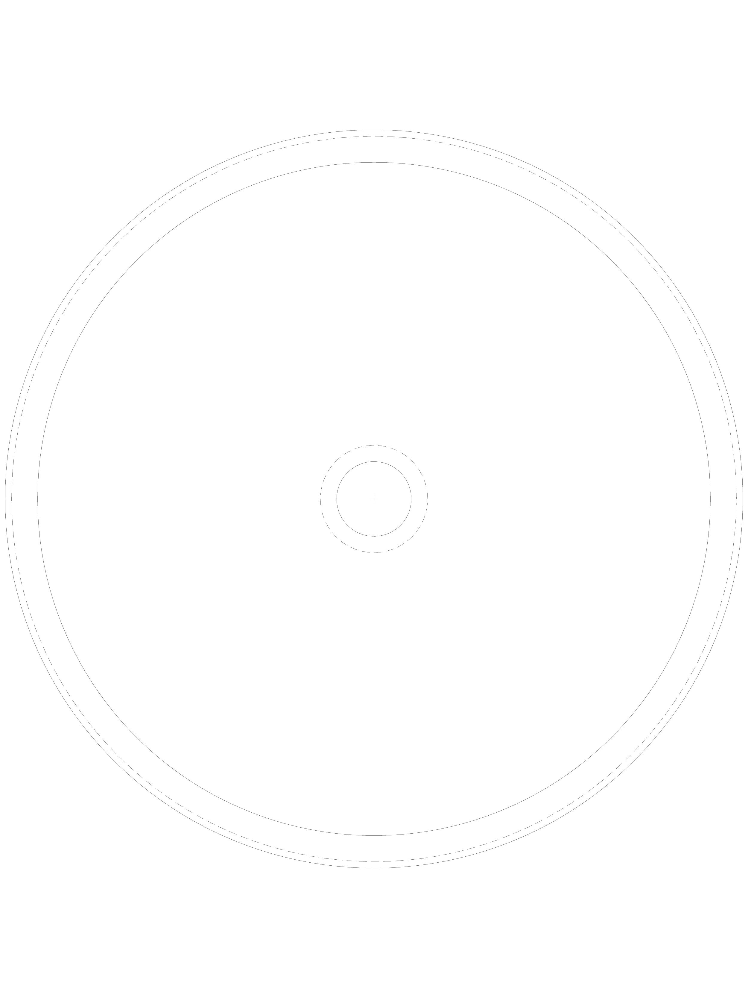 Pagina 1 - CAD-DWG Lavoar circular din inox de incastrat in blat prin lipire SANELA Detaliu de...