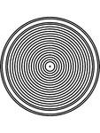 Lavoar circular din inox de incastrat in blat SANELA - SLUN 31