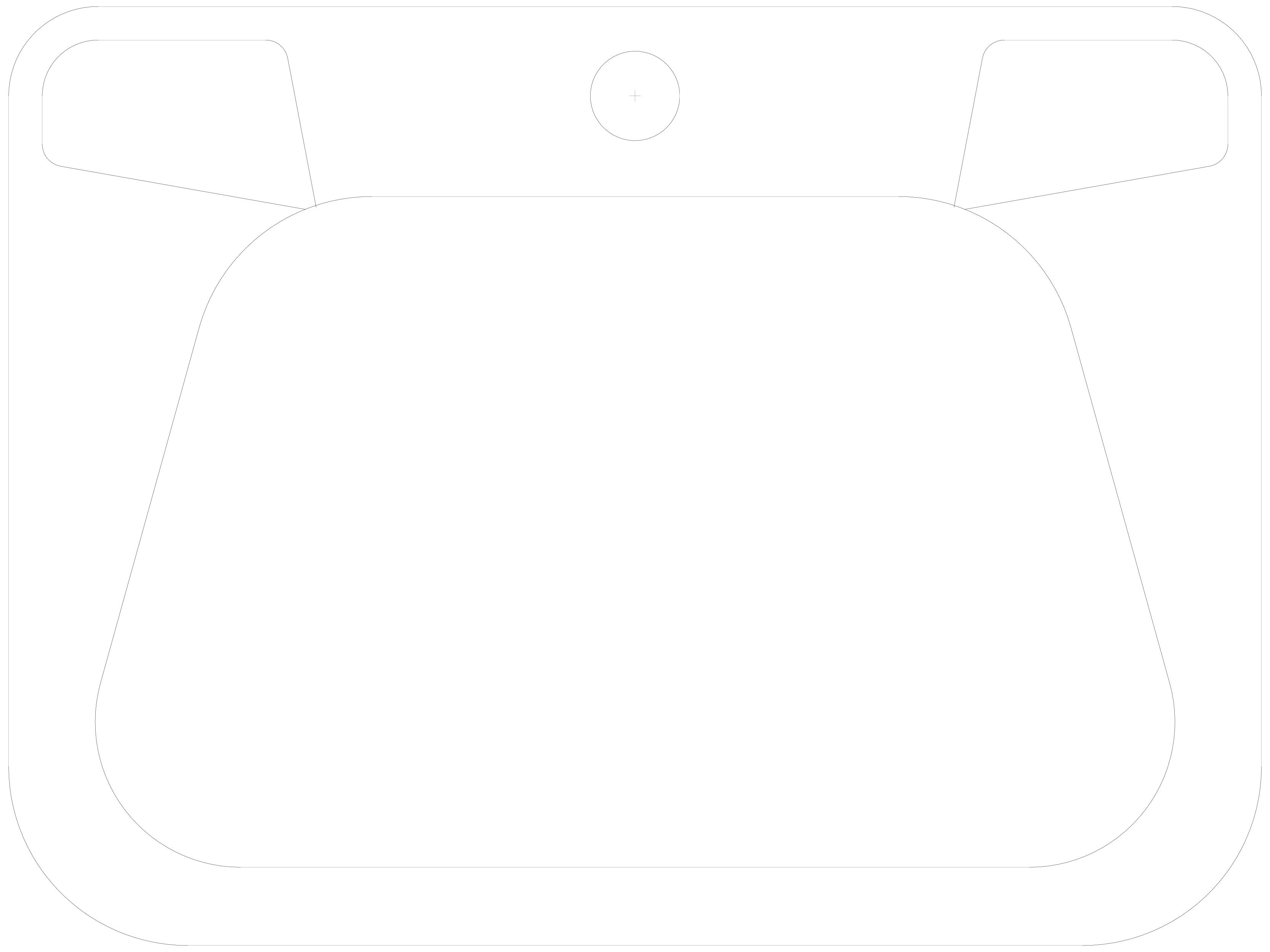 Pagina 1 - CAD-DWG Lavoar din inox, cu gaura pentru baterie si preaplin SANELA Detaliu de produs...